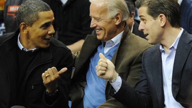 U.S. President Obama attends Georgetown vs Duke basketball game in Washington