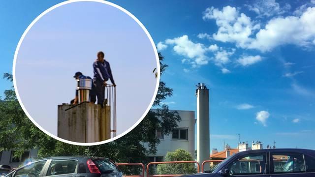 Okončana drama: Nakon četiri sata muškarci su sišli s tornja