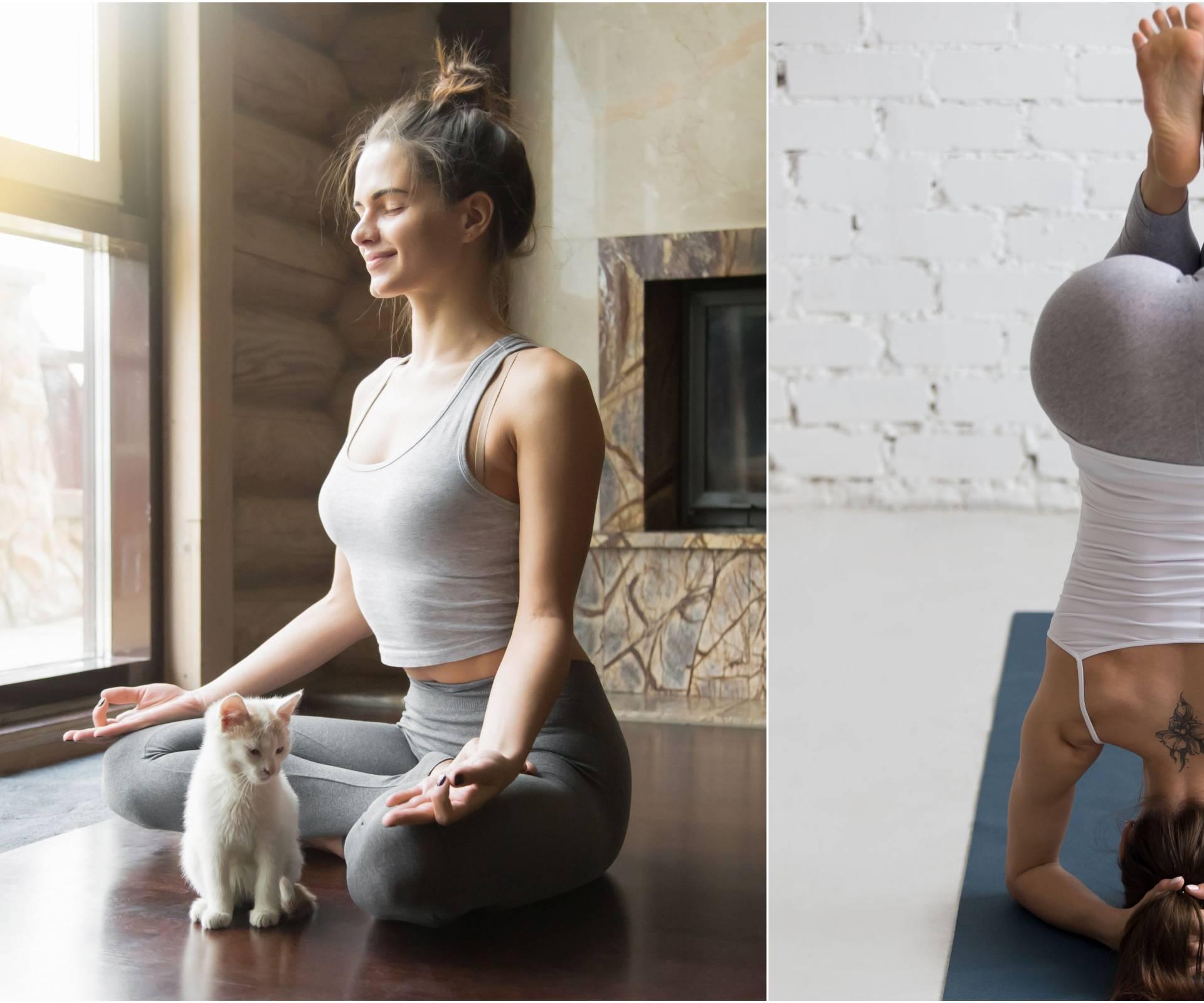 Hatha joga: Tehnike disanja usklađuju se s pokretima tijela