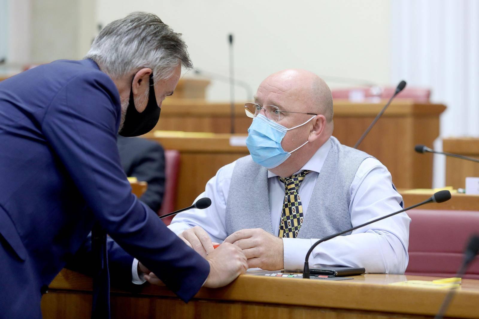 Zagreb: Sjednica Sabora nastavljena slobodnom raspravom