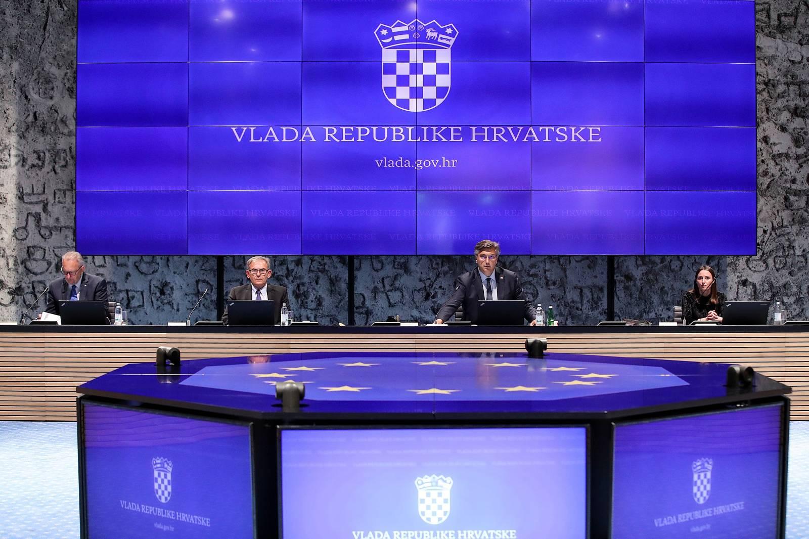 Zagreb: U NSK održana posljednja sjednica Vlade RH prije parlamentarnih izbora