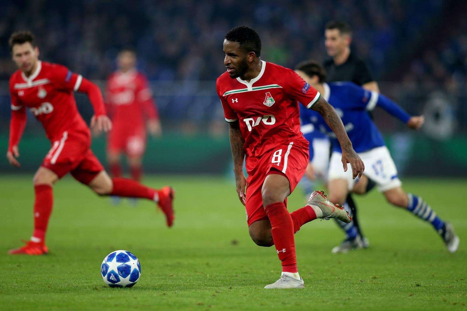 Gelsenkirchen, firo: 11.12.2018, Football, Champions League, Season 2018/2019, FC Schalke 04 - Lokomotiv Moscow,