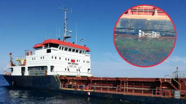 Brodolom na Jadranu: 'Spašeni su dobro, ali jako su se uplašili'