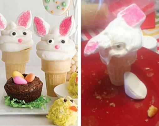 Uskrsni failovi u kuhinji:Trebali su izgledati kao zečići, ovčice...