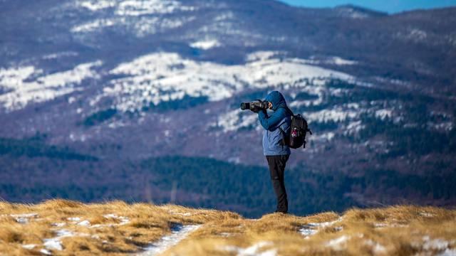 Žbevnica na Ćićariji omiljeni je vrh Istrskih planinara i šetača