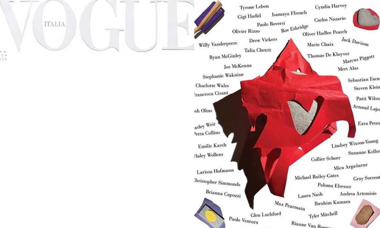 Bijela naslovnica talijanskog Voguea: Simbol je njihove nade