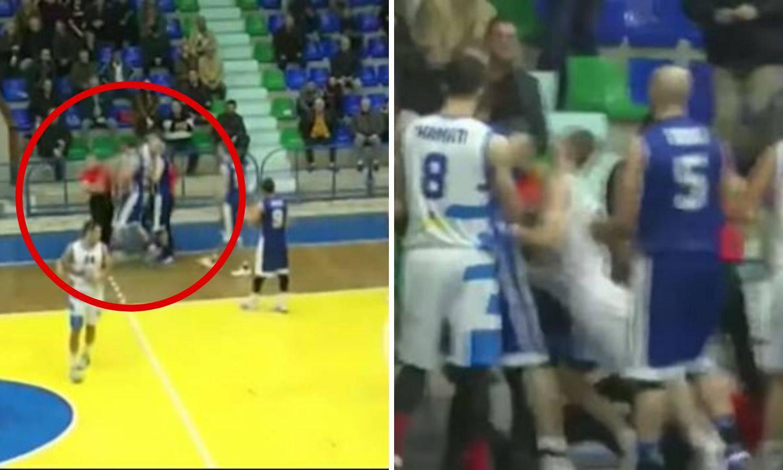 Albanski košarkaš nokautirao suca, suspendirali ga doživotno