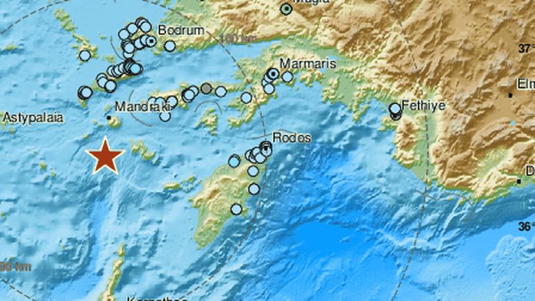 Potres jačine 4, 9 po Richteru zatresao morsko dno kod Grčke