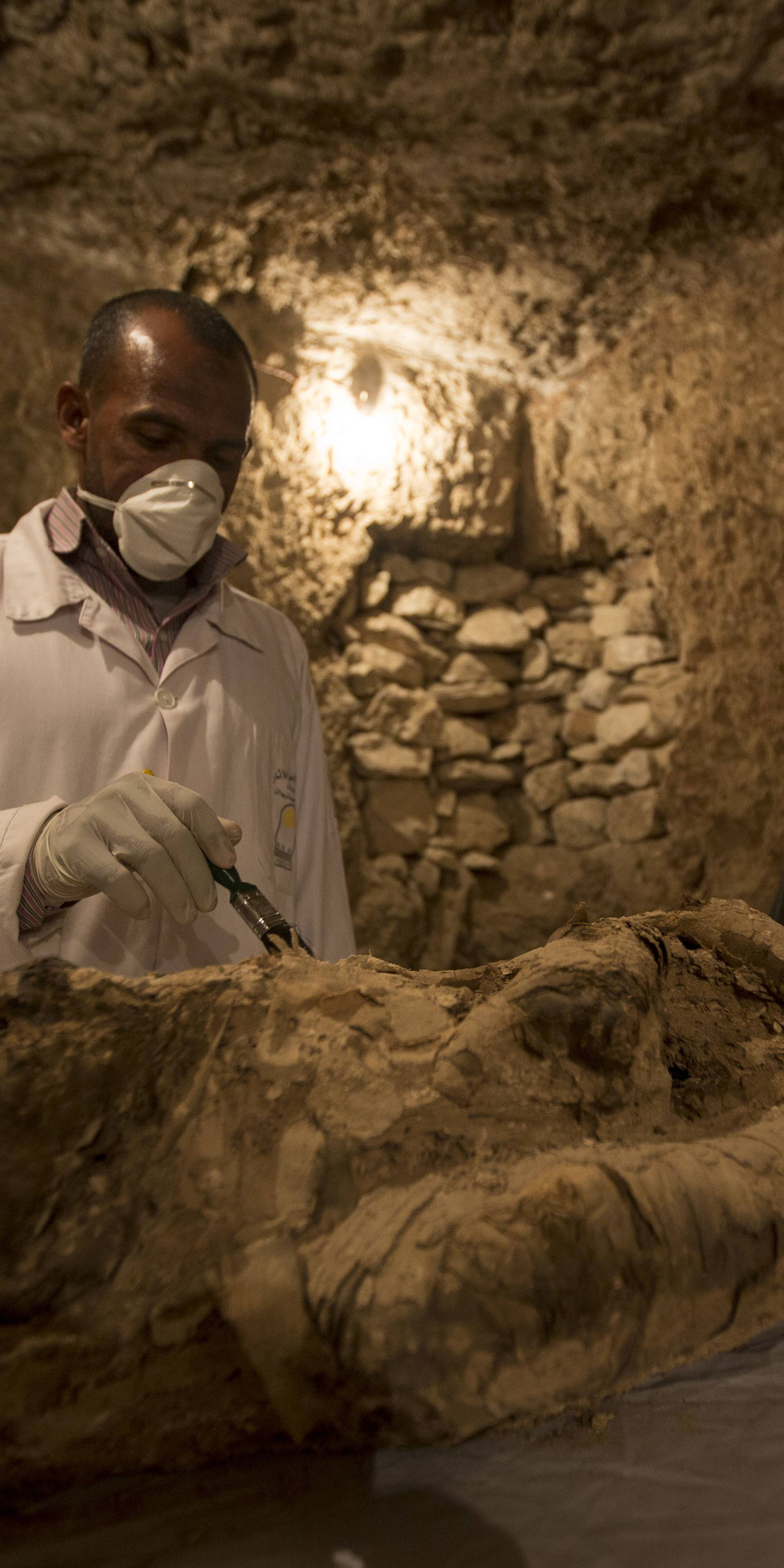 Tomb discovery in Luxor