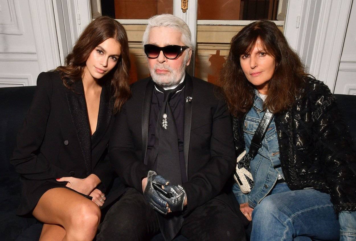 Karl x Kaia collaboration capsule collection, Spring Summer 2019, Paris Fashion Week, France - 02 Oct 2018