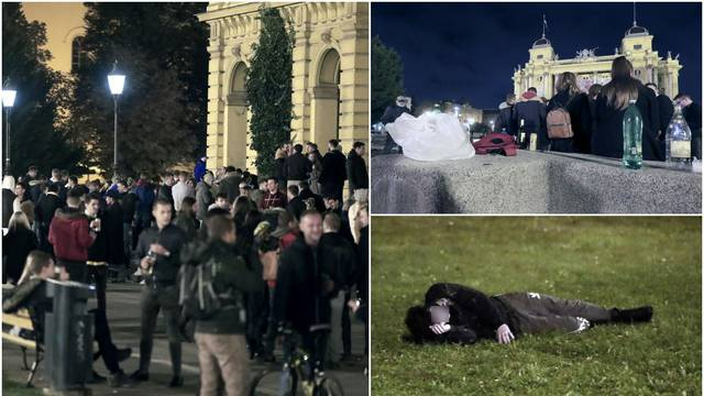 Razbacuju smeće, vrše nuždu i pijani spavaju ispred HNK: 'Ma do kad više? Tko je nadležan?'