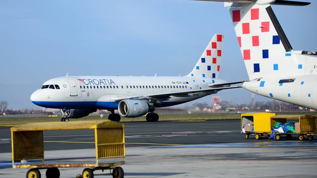 Letova unutar RH nema, avioni lete još za Frankfurt, London...