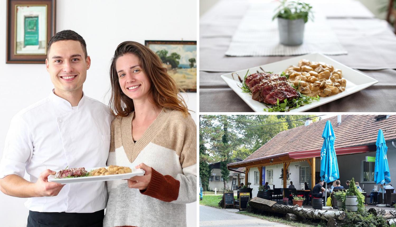 Mladi par preuzeo stari restoran na Maksimiru i dao mu novi sjaj