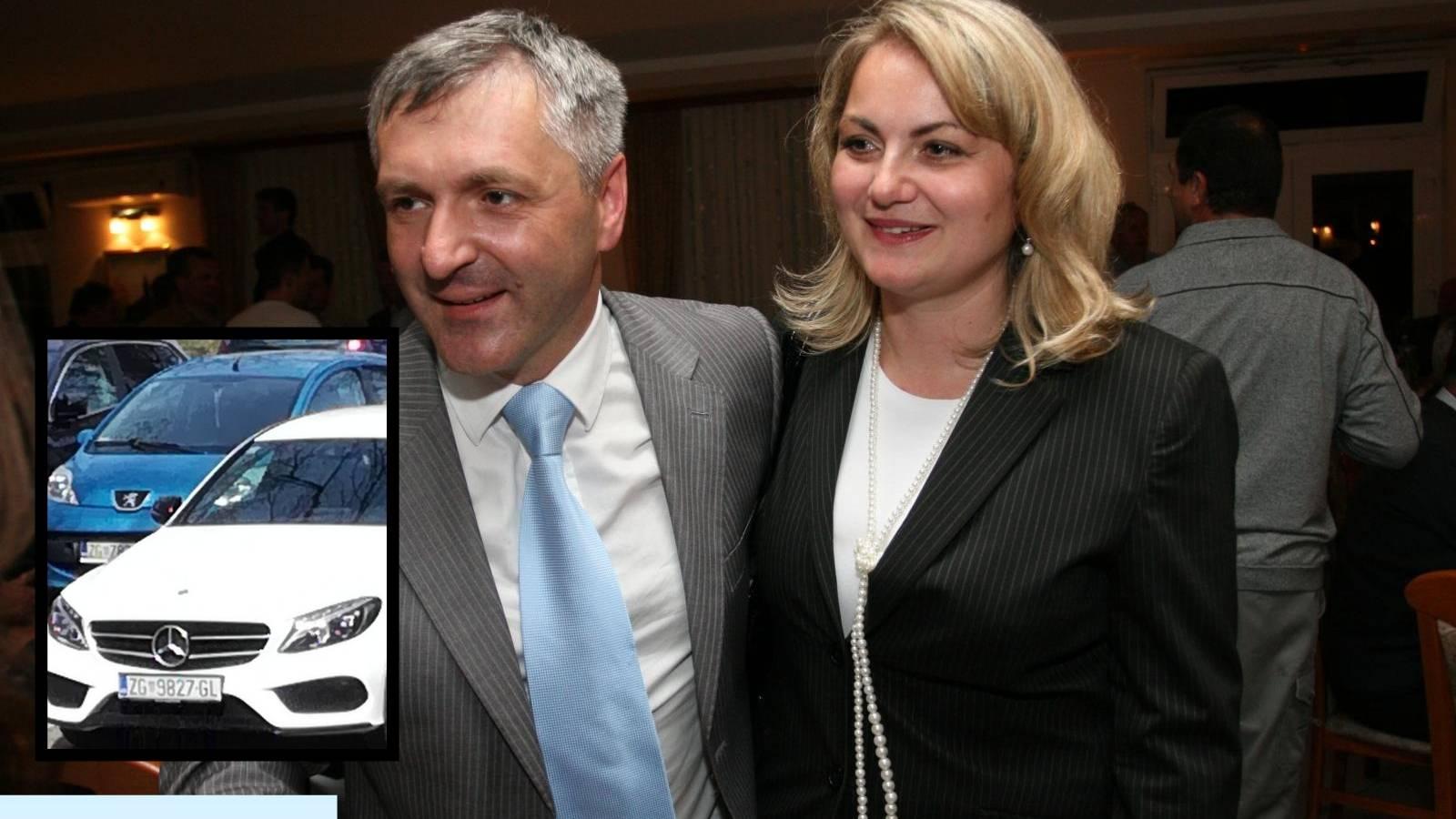 Supruga HDZ-ova čelnika vozi Mercedes vrijedan 298.000 kn
