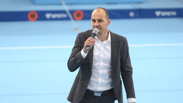 Zagreb: Otvaranje gimnastičkog centra u sportskoj dvorani u Lučkom