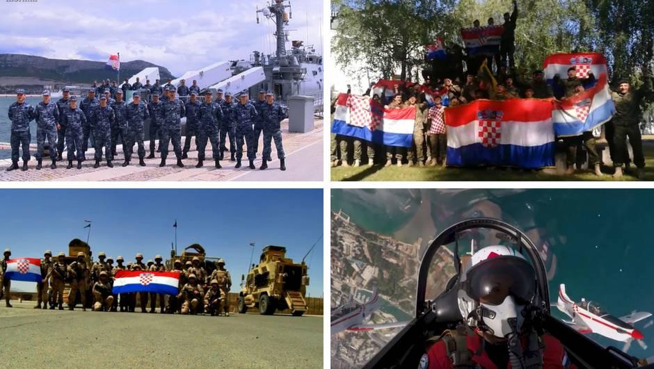 """Hrvatska vojska bodri Vatrene: """"U boj, u boj za narod svoj!"""""""