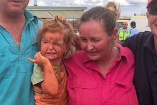 Djevojčicu (3) nestalu u poplavi pronašli živu, čuvao ju je pas