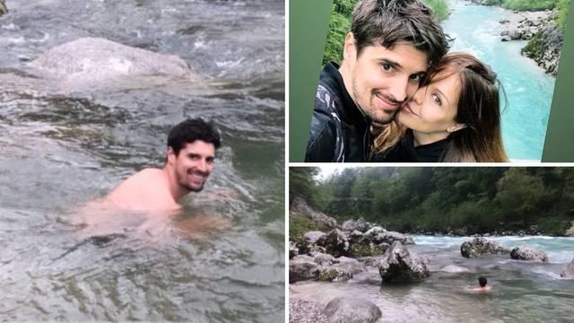 Luka Šulić se bacio u ledenu Soču: 'Hladnoća mi je prijatelj'