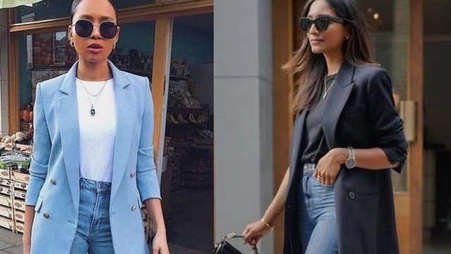'Mom's jeans': Jednostavne dnevne modne kombinacije s trapericama visokog struka