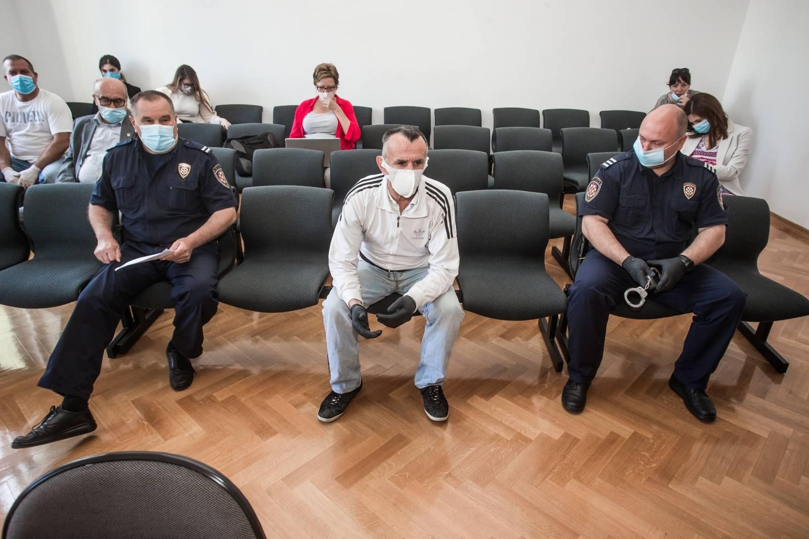 Osijek: Nastavljeno je suđenje Andriji Drežnjaku za dvostruko ubojstvo