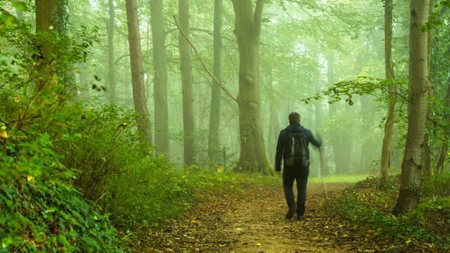 Draga, odo ja na zrak: Hodao je 400 km nakon svađe sa ženom