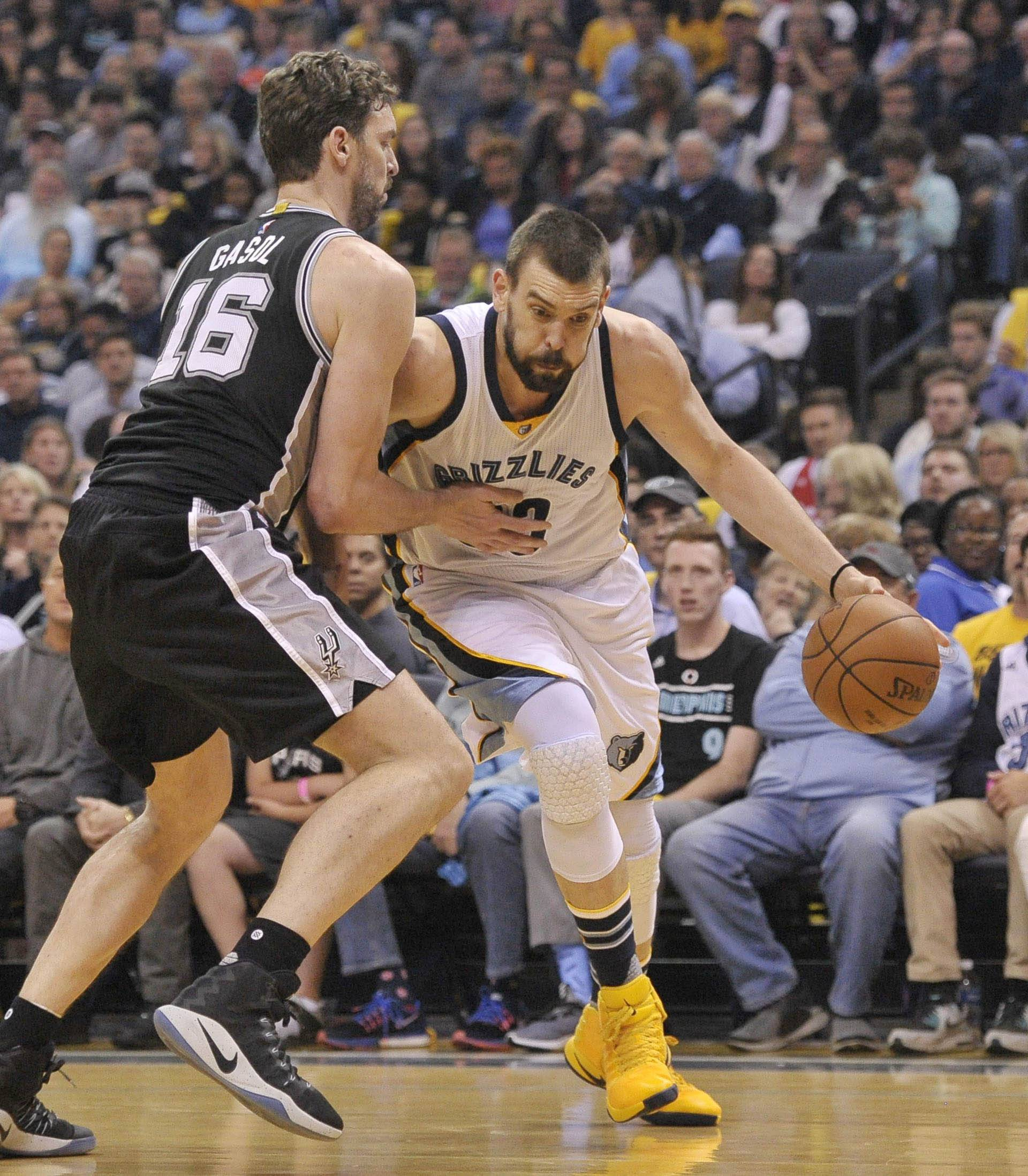 NBA: Playoffs-San Antonio Spurs at Memphis Grizzlies