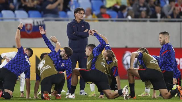 World Cup - UEFA Qualifiers - Group H - Slovakia v Croatia