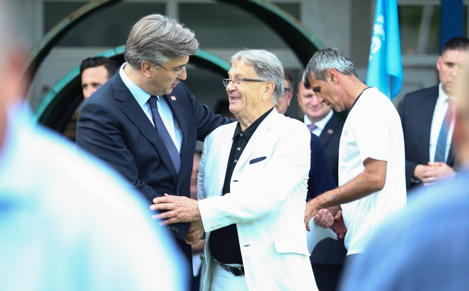 Nakon svečanosti 31. godine osnutka HDZ-a, odigrana i tradicionalna nogometna utakmica