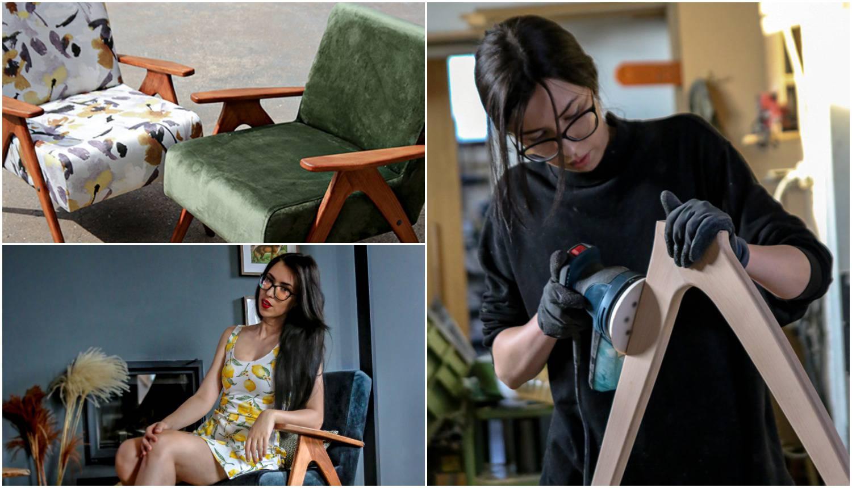 Super Marija stare fotelje vraća u život: Stare 50 i više godina u njenim rukama postaju nove