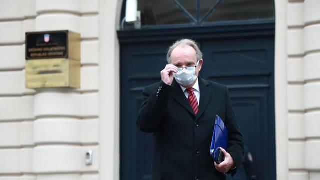 Zagreb: Branimir Glavaš u DORH predao otvoreno pismo Glavnoj državnoj odvjetnici