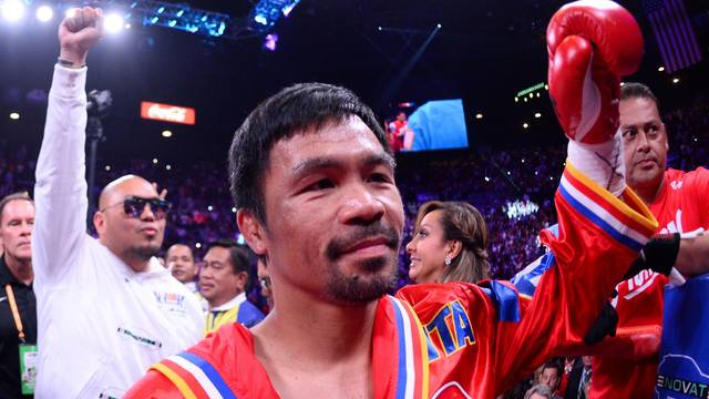 FILE PHOTO: Boxing: Pacquiao vs Thurman