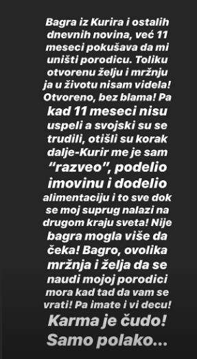 Srpski mediji: Karleuša i Duško se razvode, ona dobiva kuću...