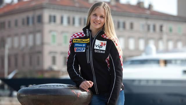 Mlada Ida Štimac pobijedila na veleslalomu u Kranjskoj Gori