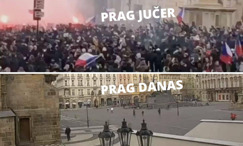 VIDEO Hrvat u centru kaosa u Pragu: 'Bilo je izvan kontrole'