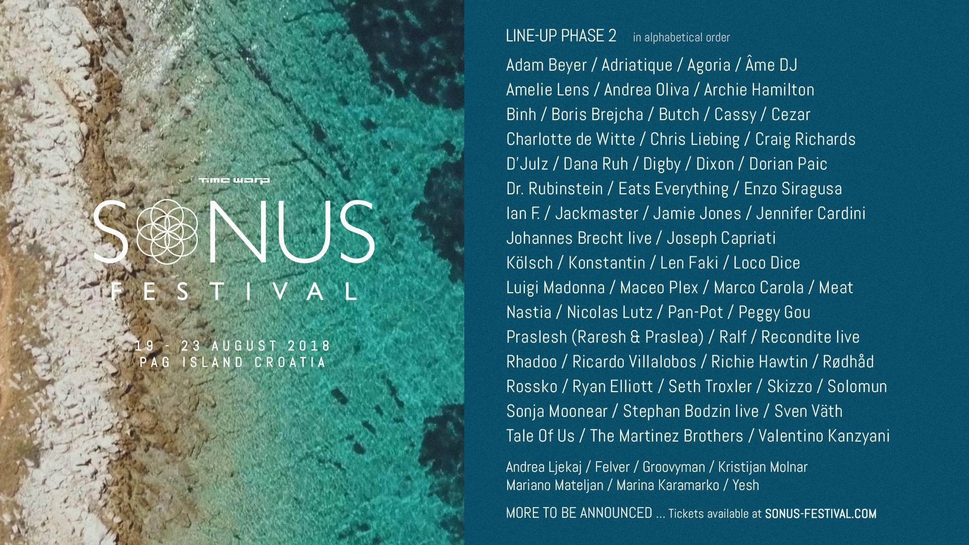 Saznajte koje zvijezde su se priključile Sonus festivalu