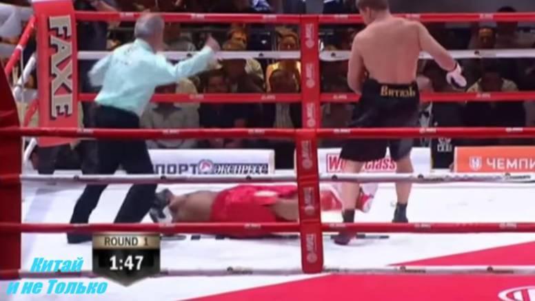 Nestao u 90 sekundi: Povjetkin razbio Kubanca Mikea Pereza