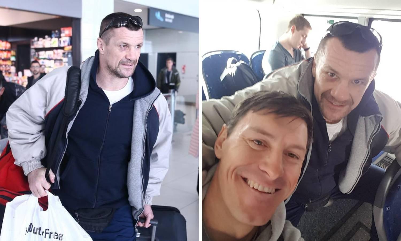 Susret hrvatskih šampiona! Ivica i Mirko se sreli u avionu