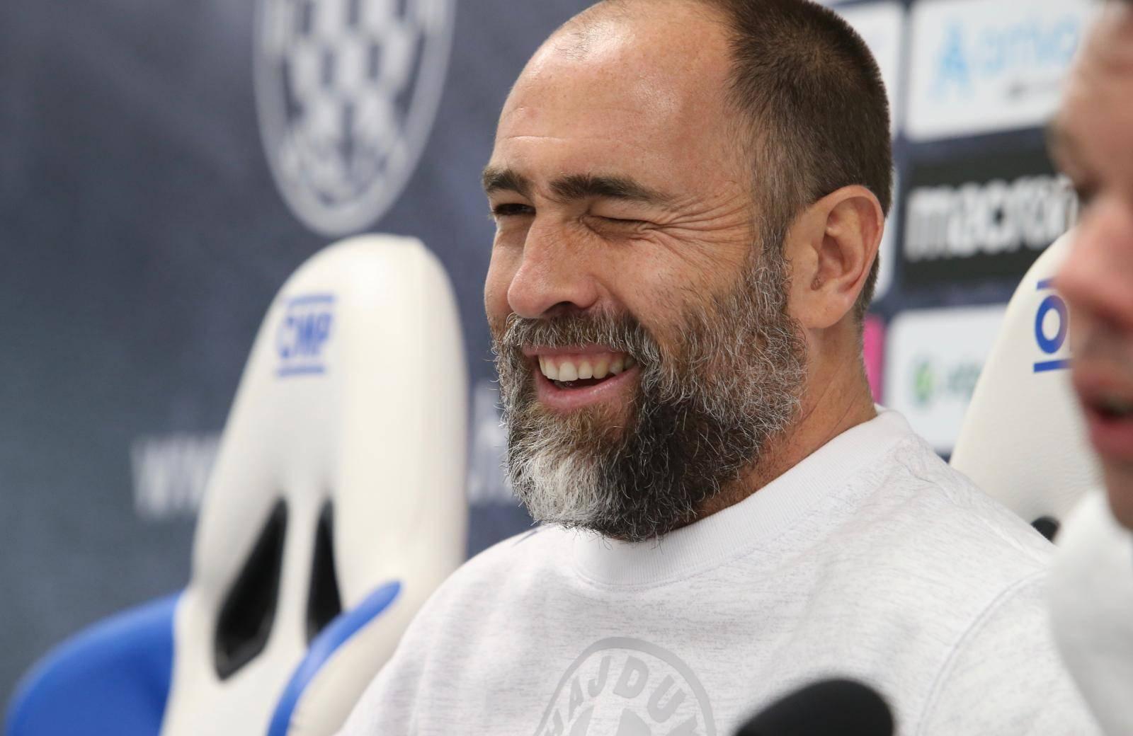 Split: Igor Tudor, trener Hajduka, najavio utakmicu protiv GNK Dinamo