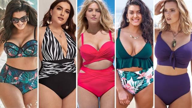 Istaknite svoju ženstvenost: 20 kupaćih kostima za punije žene