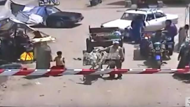 Magarac umalo ubio vlasnika i dijete pa stradao pod vlakom