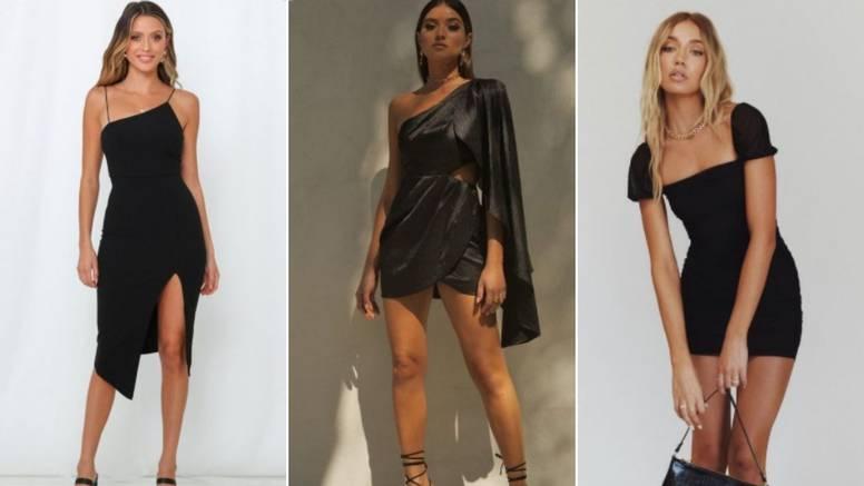 Vječna elegancija: 10 ideja za fantastične crne ljetne haljine