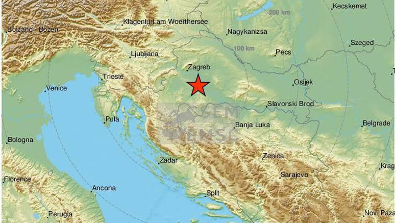 Novi potres kod Petrinje: 'Dugo nije ovako treslo. Čuo se jak zvuk kao da prolazi vlak'