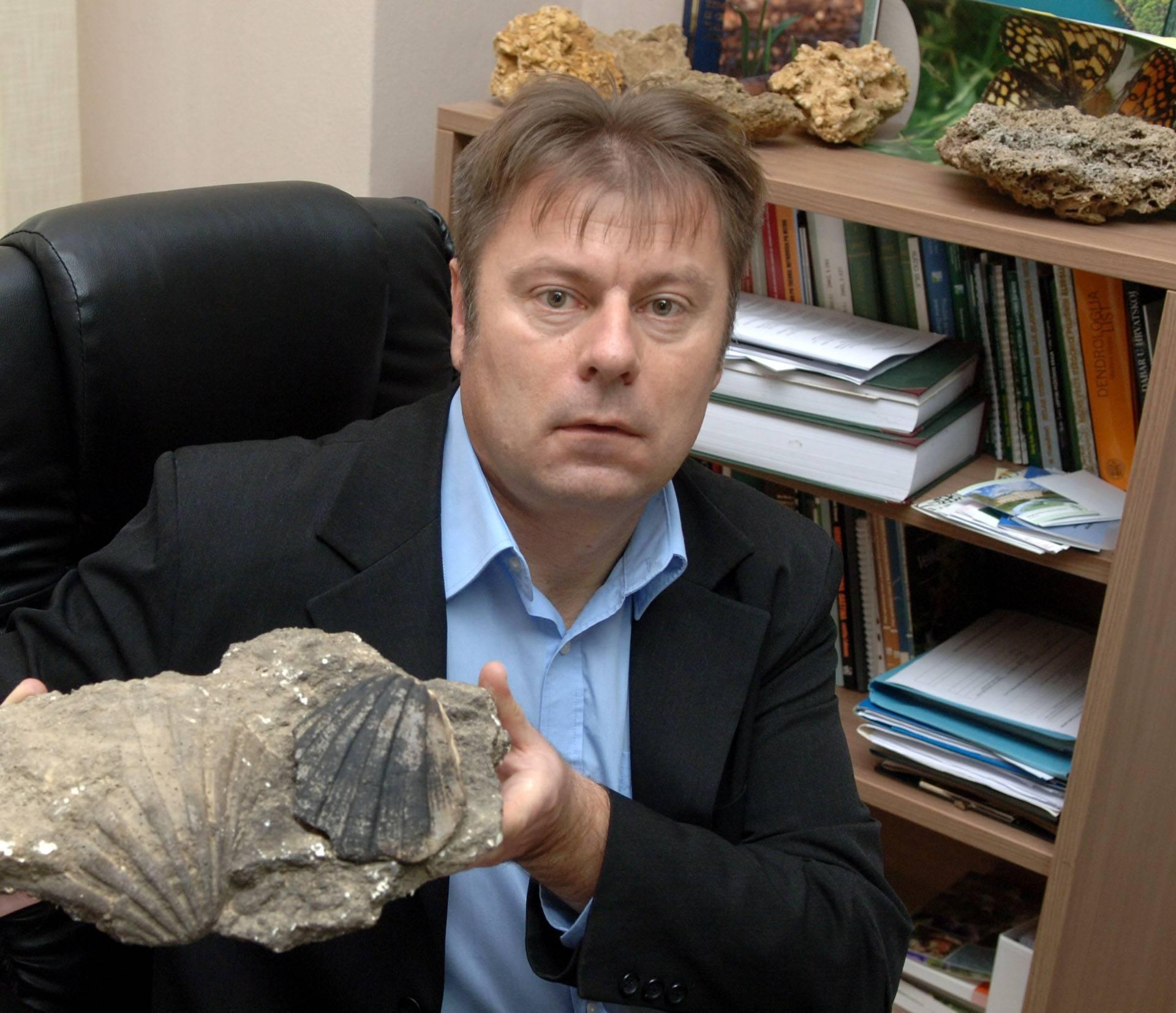 Fosili zivotinja Panonskog mora u Pozegi