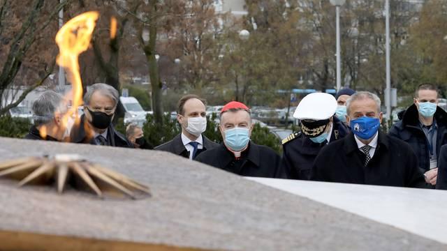 Na 21. obljetnicu smrti Franje Tuđmana svečano otvoren Spomenik domovini u Zagrebu