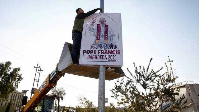Iraqi Christians throughout the country prepare for pope's visit