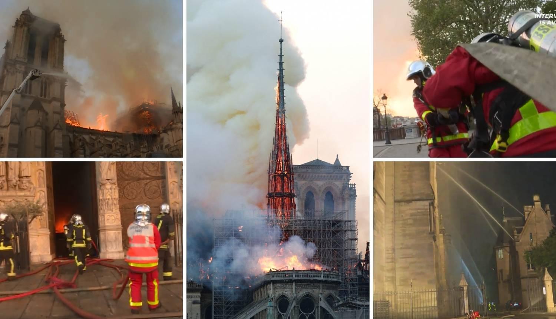 Požar u katedrali Notre Dame: Senzori nisu ispravno radili?