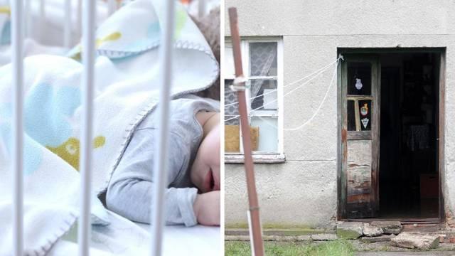 Preživjela beba je u Nazorovoj: Nije se javio nitko od obitelji