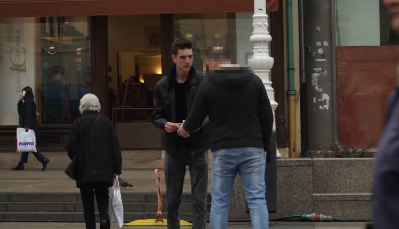 Leon (23) izveo eksperiment u Zagrebu: Hrvati nisu pošteni?