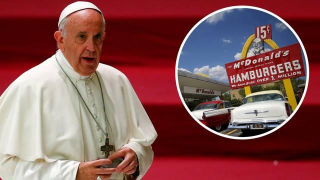 Dio kardinala se ljuti jer žele otvoriti McDonald's u Vatikanu