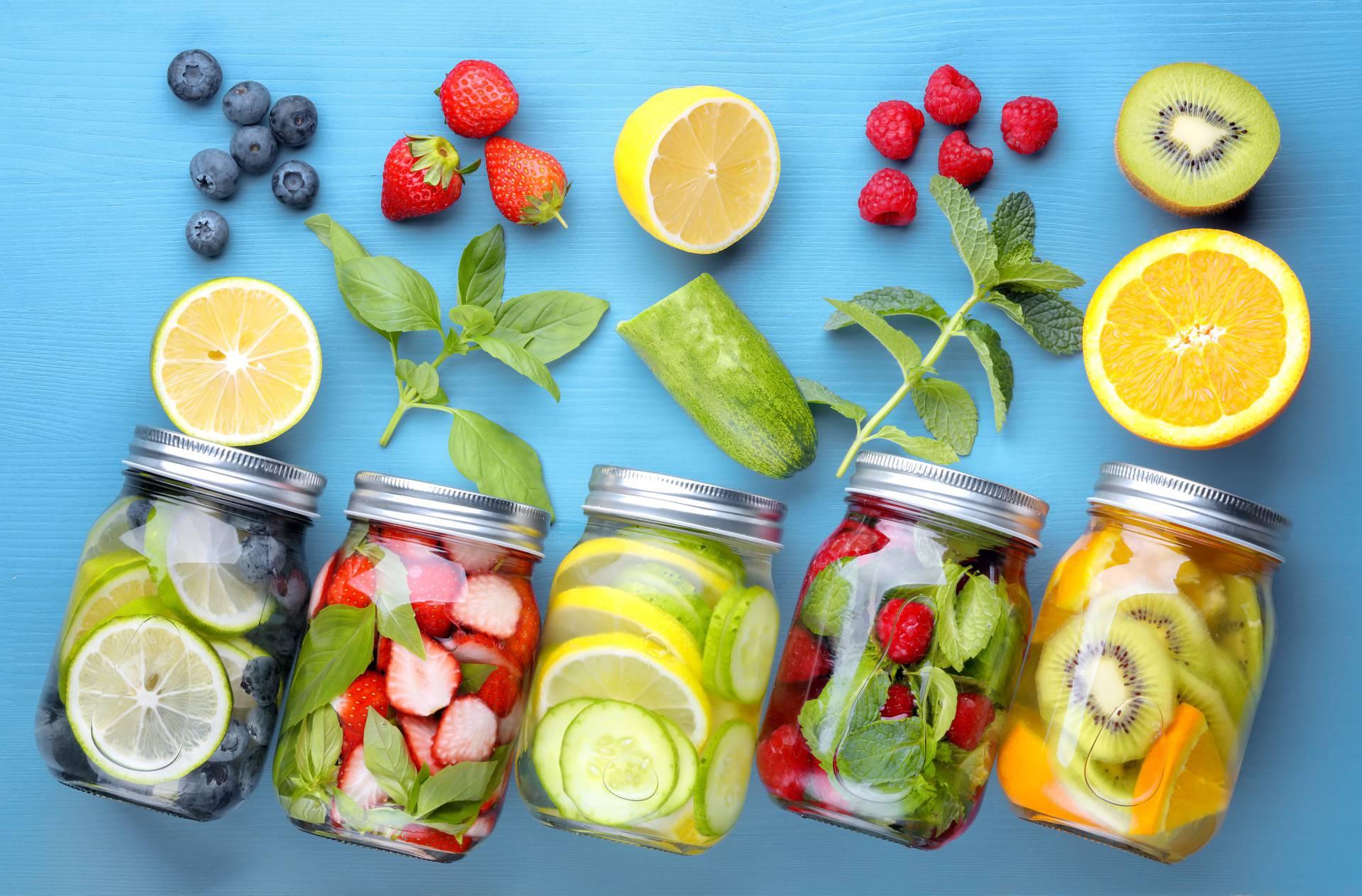 Napravite sami vodu s okusom
